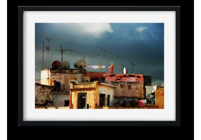 Les toits de Tanger - Lise