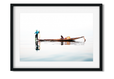 Le couple de pêcheurs - Lise