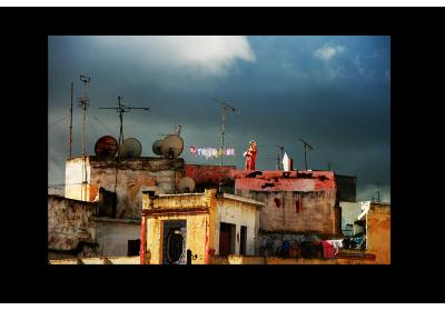 Les toits de Tanger - Lise Hébuterne